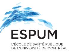 Ecole de santé publique de l'Université de Montréal